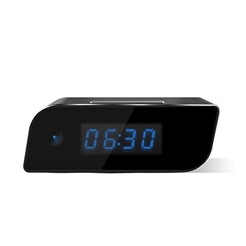 downee Wi-Fi Hidden Camera Clock Wireless Camera Full HD 1080P App
