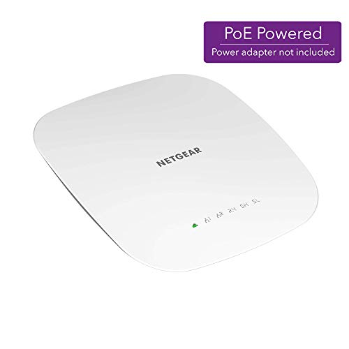 NETGEAR Insight Managed Smart Cloud Tri-Band 4×4 Wireless Access Point, power adapter not included (WAC540)