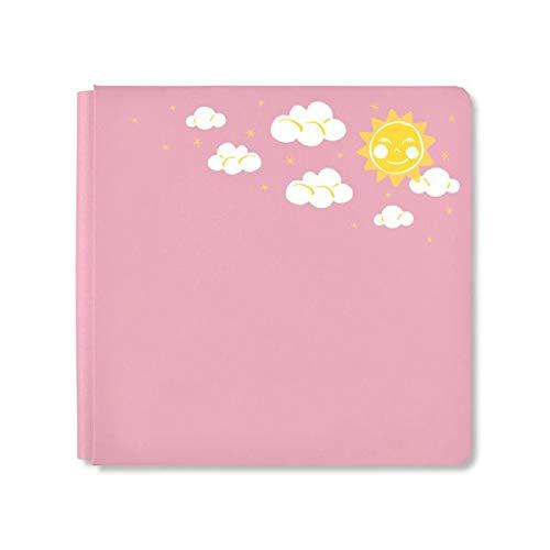 Album Scrapbook Memory 12x12 - Creative Memories 12x12 Petal Pink Storytime Girl Scrapbook Album Cover True Size