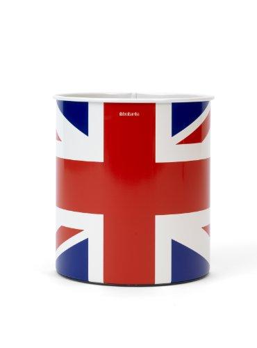 Brabantia Waste Paper Bin, Union Jack, 30 Litre, 479786