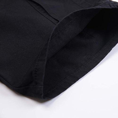 Pantaloncini Estivi Moda Nero Pantaloni Uomo Larghi Liquidazione Qiusa Allentati Sportivi Spiaggia Pantalone Vendita Da Corti dwOpIg