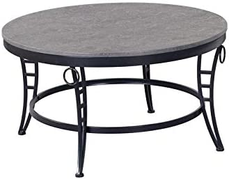 Pemberly Row Chiswell Gray Coffee Table