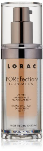 LORAC POREfection Foundation, PR8-Golden Tan, 1.12 fl. oz.