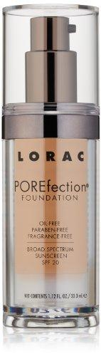 LORAC POREfection Foundation, PR8-Golden Tan, 1.12 fl. ()
