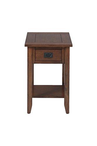 - Jofran: 1032-7, Mission Oak, Chairside Table, 16