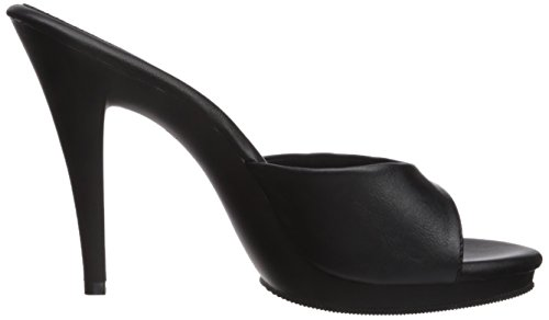 Fabulicious Womens Flair-401-2 Sandalo Blk Pu / Blk