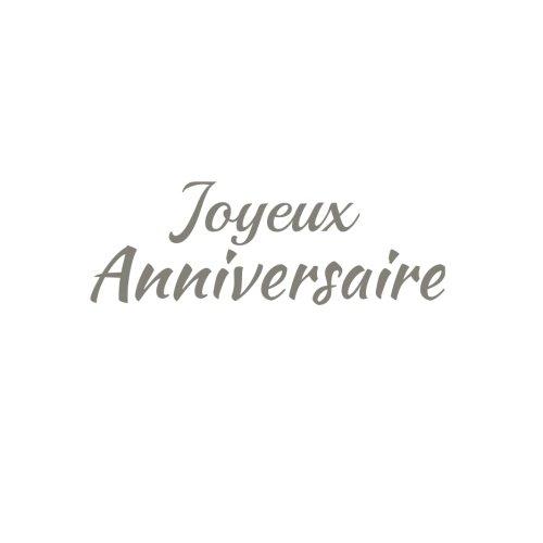Joyeux Anniversaire .......: Livre d'Or Joyeux Anniversaire 21 x 21 cm Accessoires decoration idee cadeau Anniversaire pour enfant garon fille ... Fte Couverture Blanc (French Edition)