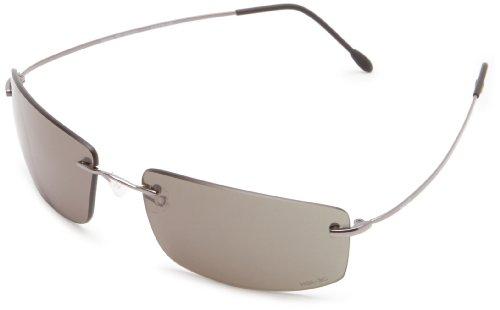VedaloHD Rosso2 2265 Rectangular Sunglasses,Gunmetal,60 - Sunglasses Vedalohd