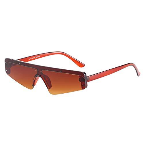 iYBUIA Unisex One Piece Vintage Eye Sunglasses Retro Eyewear Fashion Radiation Protection from iYBUIA