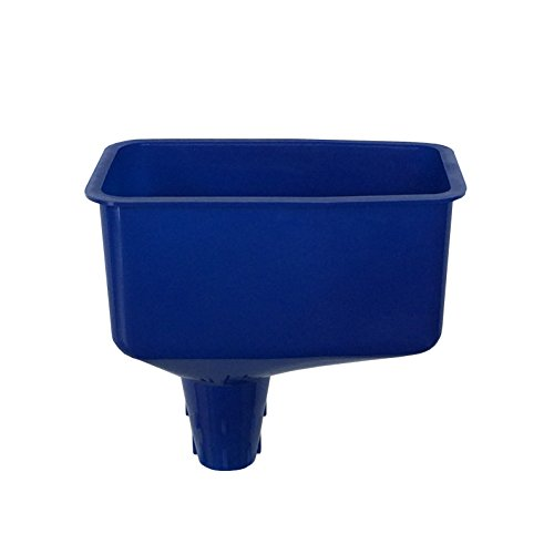 WirthCo 32847 Funnel King Blue Locking Offset Oil Funnel