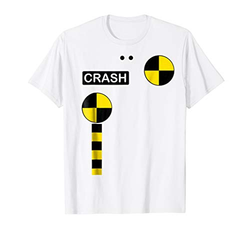 Crash Test Dummy Easy Last Minute Halloween Costume T Shirt