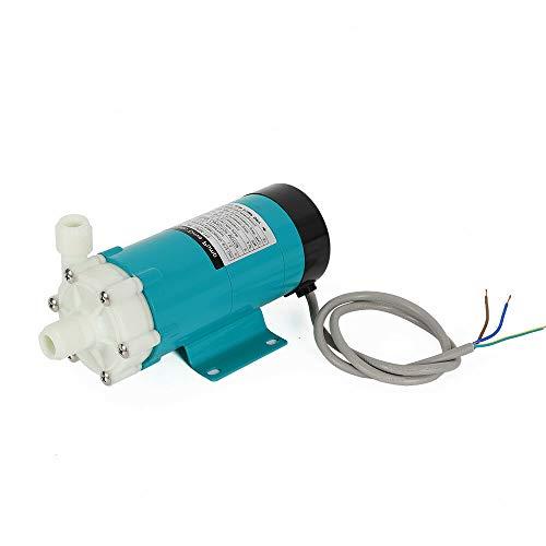 Beer Pump, Food Grade High Temp Plastic Head Magnetic Drive Pump Brewing Beer Pump with 1/2
