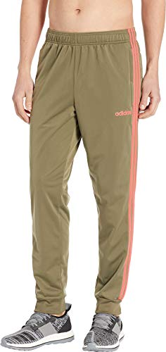 (adidas Men's Essentials 3-Stripes Tricot Track Pants Raw Khaki XX-Large R)