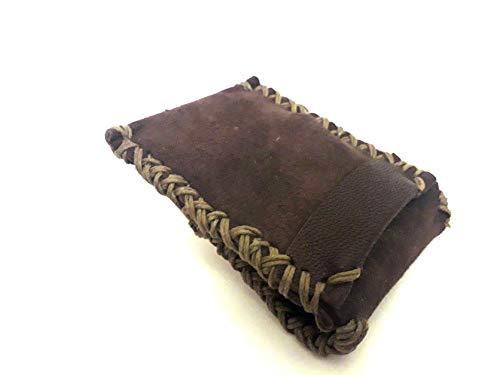 DMT : Dark Mocca Tan : Suede Card Wallet