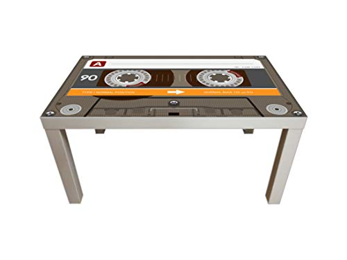 Cassette Tape Coffee Table, Retro Coffee Table, Coffee Table, Pine wood Coffee Table, interesting Coffee Table, Vintage Coffee Table, Coffee & End Tables, Living Room Furniture Coffee Tables, Table