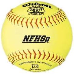 """Wilson A9011BSST NFHS Softballs, 12"""", dz"""