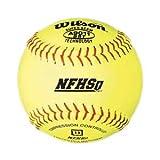 Wilson A9011BSST NFHS Softballs, 12'', dz
