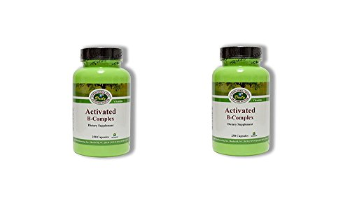 Daily Manufacturing -Activated B-Complex |250 Capsules, 2 Pack by Daily Manufacturing