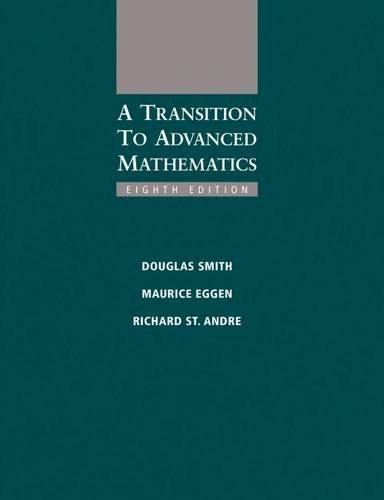 Transition To Advanced Math.