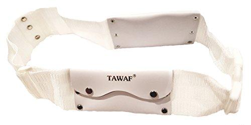 Tawaf Unsewn/Non-Stitched/Un-Hemmed/Seamless Ihram Ahram Ehram Money Belt for Hajj or Umrah (XXL - Extra XL)