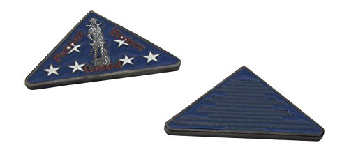 - US Air Force Patriot Honor Guard Folded Flag Shaped Challenge Coin