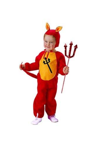 [Lil' Demon (Standard;Toddler)] (Lil Demon Pajama Infant Costumes)