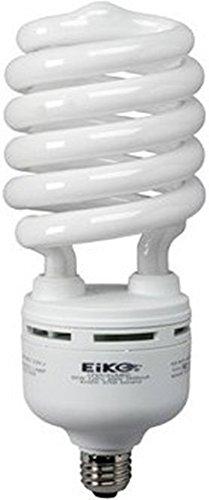 120v T4 Medium Screw - Eiko 81181 - SP85/50/MED - 85 Watt Spiral Compact Fluorescent, 5000K, Medium Base