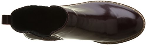 Femme Ramsy Bottes Jeans Burgundy Rouge Chelsea Pepe xqZIw5Z