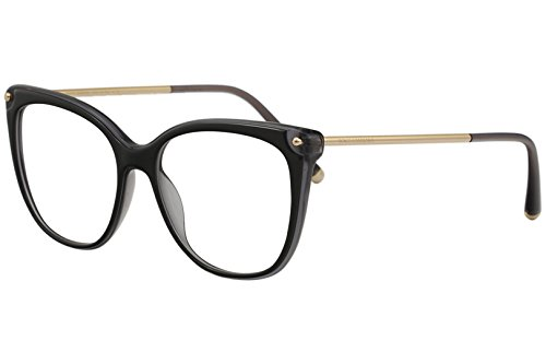 Dolce & Gabbana Eyeglasses D&G DG3294 DG/3294 501 Black Optical Frame 54mm