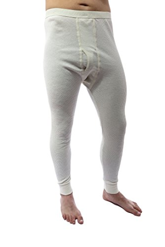 Boxer Joe Underwear (Joe Boxer Mens Thermal Bottoms (X-Large, Cream))
