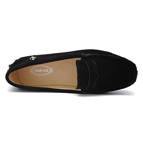 Meijili - Sandalias mujer, color negro, talla 35