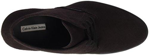 Calvin Klein Stevie Suede, Women's Closed-Toe Pumps Braun (Mch)
