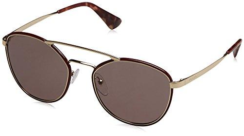 Prada PR63TS VIY6X1 Bordeaux PR63TS Square Sunglasses Lens Category 3 Size - Sunglasses Prada Purple