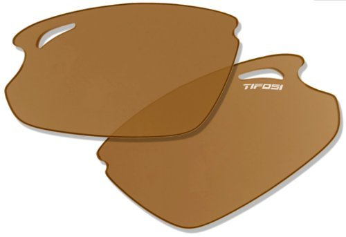 Tifosi Optics Tyrant 2010 Sunglasses Replacement Lenses - Polarized Fototec (Brown Polarized - Tyrant Fototec Sunglasses Tifosi