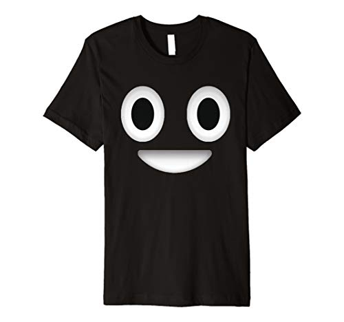 Poop Costume Emoticon Shirt Halloween Gift for Boys Girls Premium T-Shirt]()