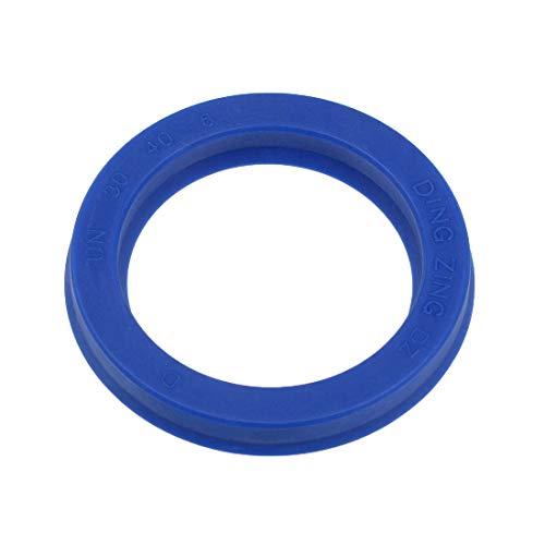 uxcell Hydraulic Seal, Piston Shaft U32i PU Oil Sealing O-Ring, 30mm x 40mm x 6mm
