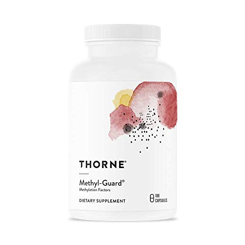 Thorne Research - Methyl-Guard - Methylation Support Supplement with Folate and Vitamin B12 - 180 Capsules (Guard Methyl Plus)
