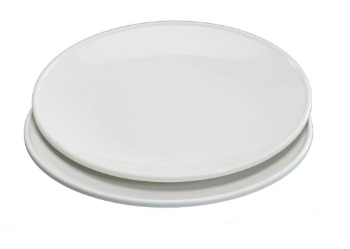 Nordic Ware Microwave Everyday Dinner Plates, Set of 4, Beig