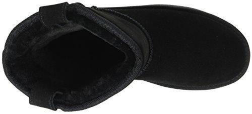 Noir noir Elmie Femme Fourrées Bottes Cassis D'azur Cote 8YwCFqg