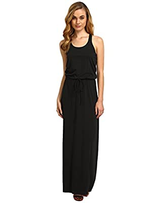ROMWE Women's Casual Long Tank Sleeveless Racerback Maxi Dress