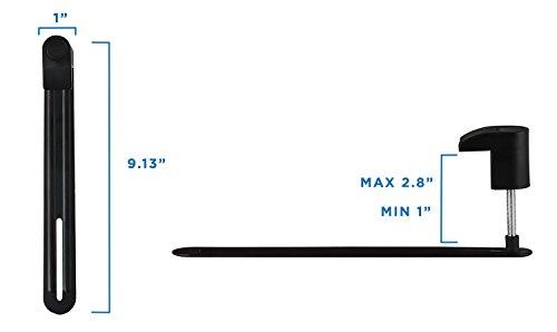Mount-It! VESA Adapter Mount Bracket Kit for Non-VESA HP ACER Samsung Dell Asus Monitors 13 to 30 Inch VESA 75x75 and VESA 100x100 Photo #3