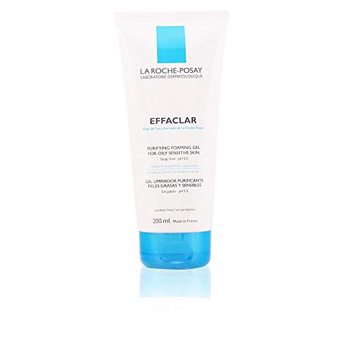 La Roche-Posay Effaclar Purifying Foaming Gel Cleanser for Oily Skin, 6.76...