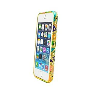 Fashionable Multicolor Crystal Rhinestone Diamond Bling Metal Aluminium Alloy Bumper Case for iPhone 5/5S Protective Case