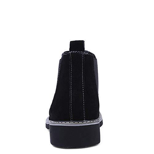 Chelsea À Décontractée Apragaz Pour Casual Noir Lacets Tenue Bottines Chaussures Classiques Hommes Occasionnelles FOTRwaq
