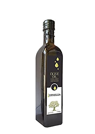 Ophellia Aceite de oliva virgen extra Griego 500 ml Botella de vidrio de la isla de Creta: Amazon.es: Alimentación y bebidas