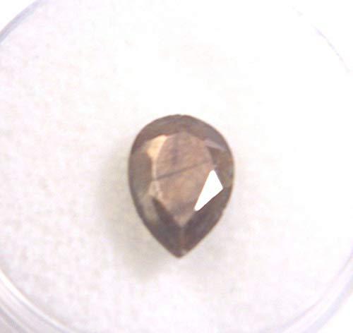 African Chocolate Sapphire (Pear 10x7x3mm) 2.08Cts. Eye Clean KS-367 ()