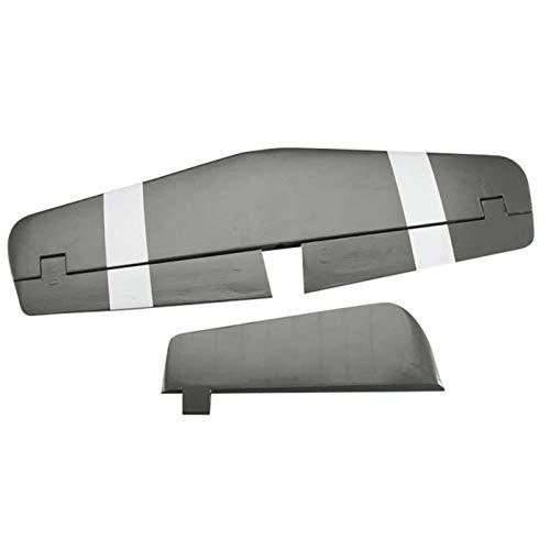 (Top Flite Tail Set Horizontal Stab & Rudder P-51D 60 Size ARF)