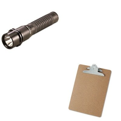 KITLGT74302UNV40304 - Value Kit - Streamlight Inc Strion LED Rechargeable Flashlight (LGT74302) and Universal 40304 Letter Size Clipboards (UNV40304)
