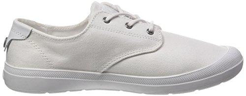 Palladium Voyage F, Zapatillas para Mujer Blanco (White/white)