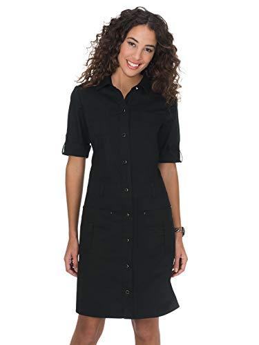 KOI 905 Women's Alexandra Dress Black Large